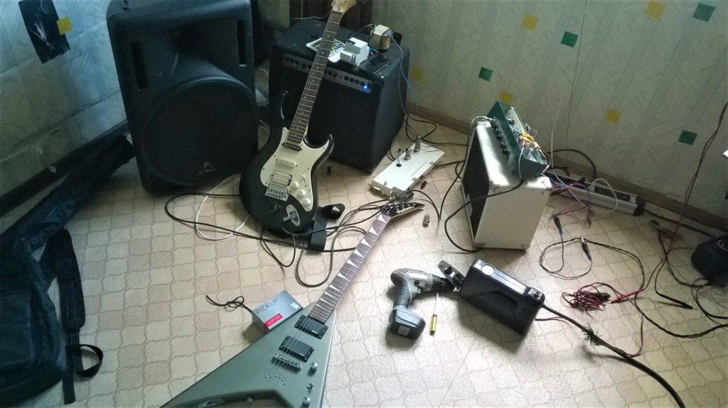 Ремонт гитарных комбиков Рязань