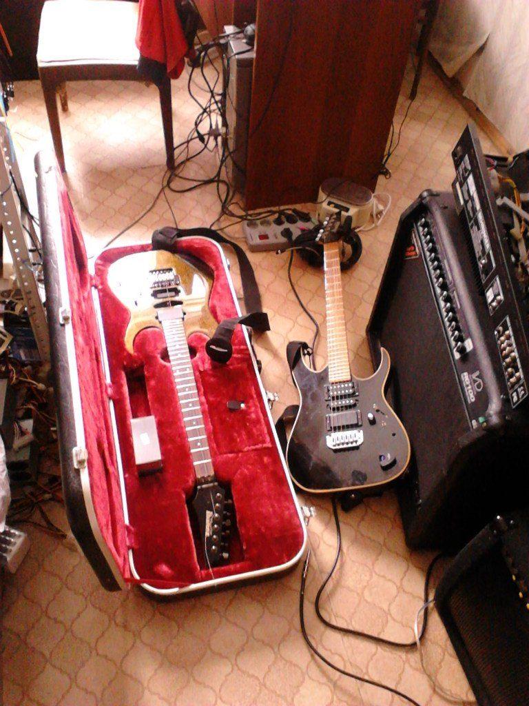 Замена стоковых звукоснимателей, гитары Ibanez