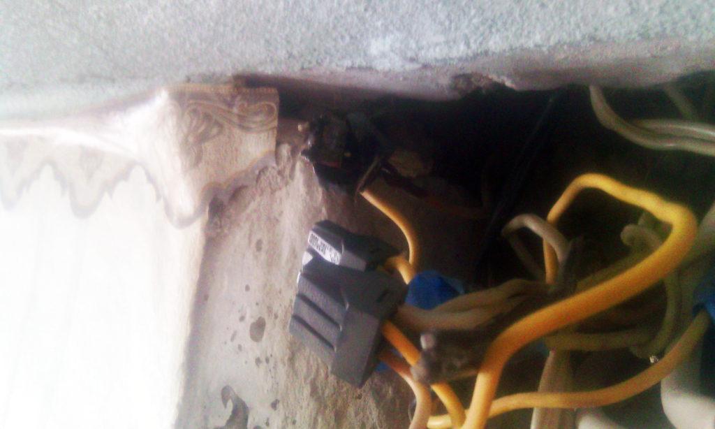 расплавление и нарушение контакта в клеммнике wago электрика в квартире