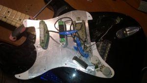 Распайка электрогитары Peavey Predator