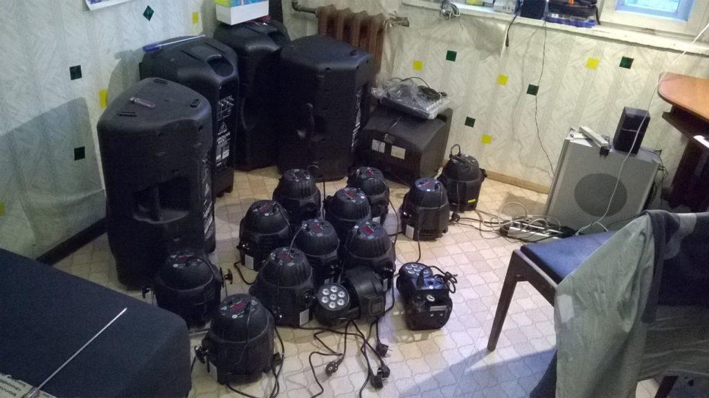 Ремонт световых приборов DMX в Рязани