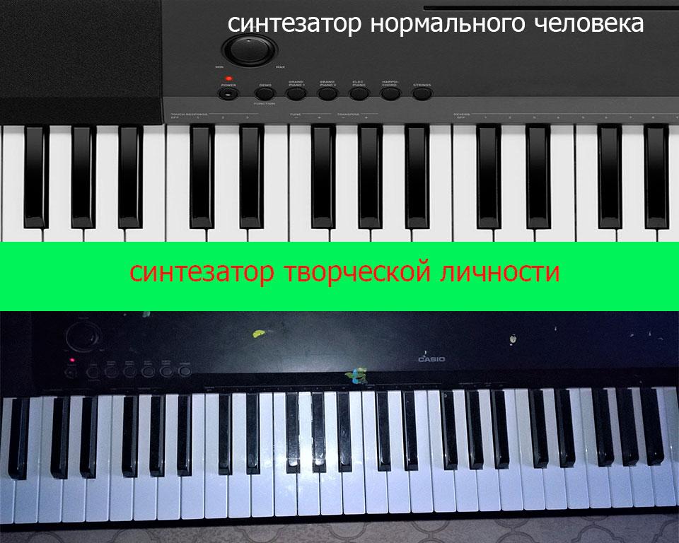 Синтезатор для творческой личности