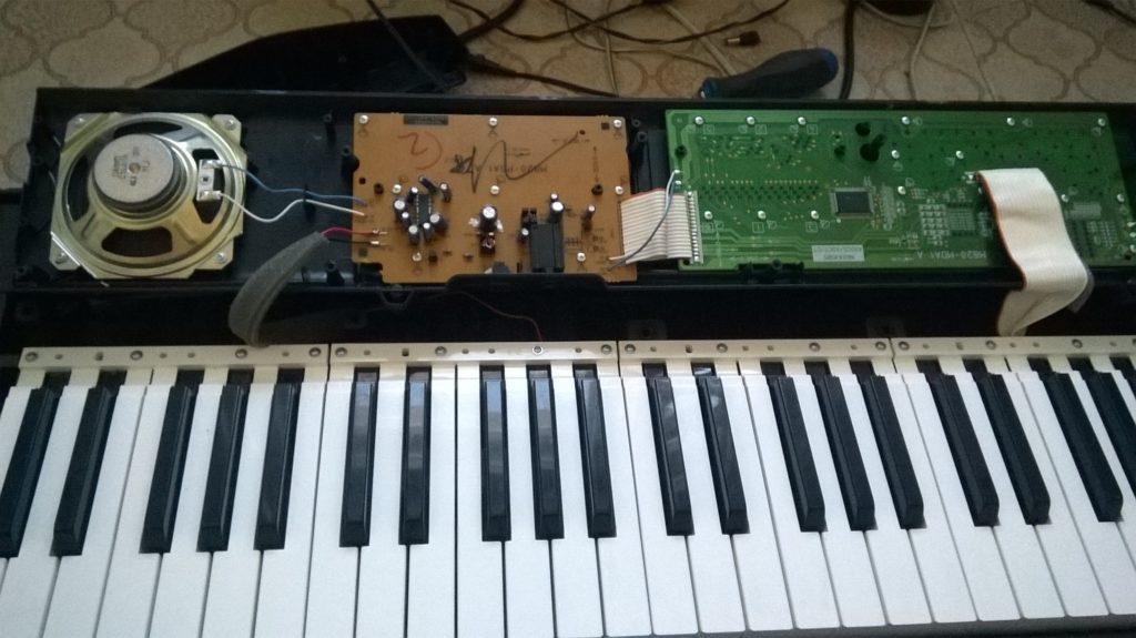 Ремонт синтезатора Casio для детского центра