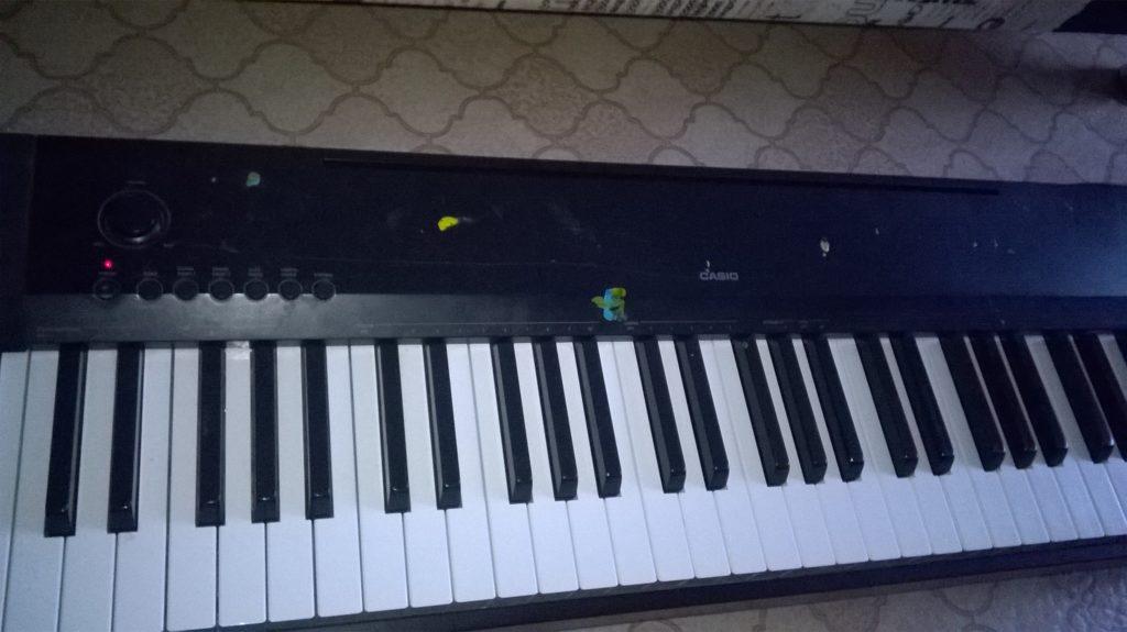 Ремонт цифрового фортепьяно Casio в Рязани