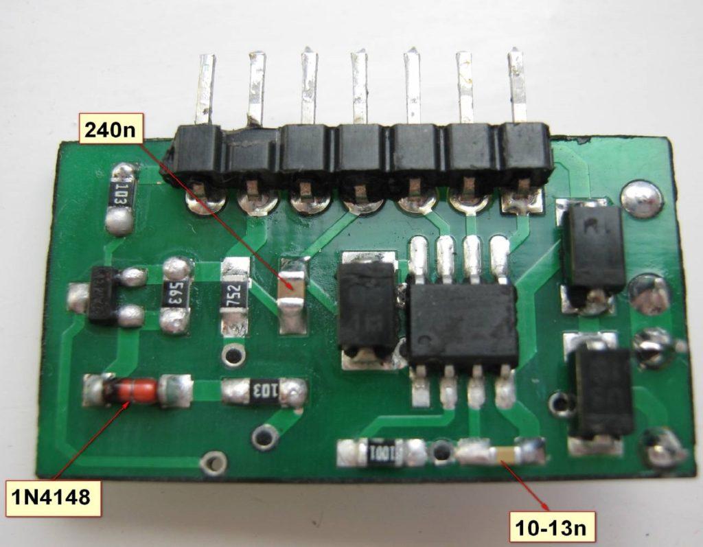 Схема шим контроллера Ir2153 (irs2153)