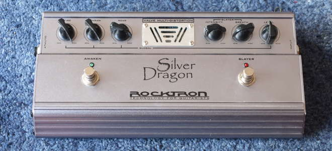 Ремонт полуламповой примочки Rocktron Silver Dragon | Ремонт гитарных примочек Рязань