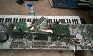 Ремонт синтезаторов и цифровых пианино в Рязани
