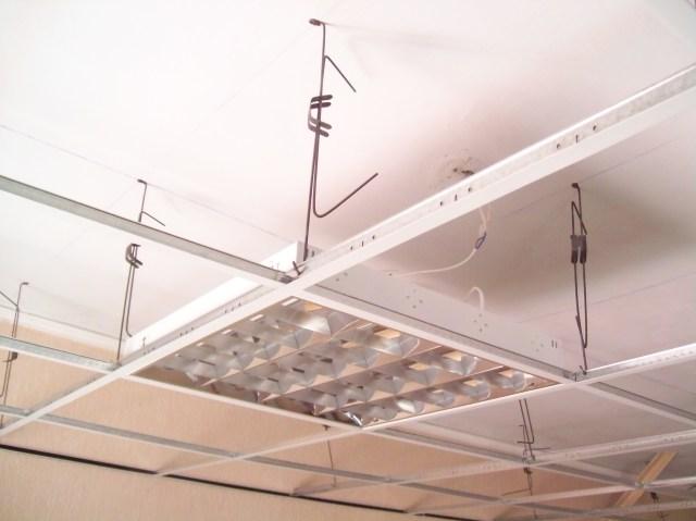 Растровый квадратный светильник для подвесного потолка
