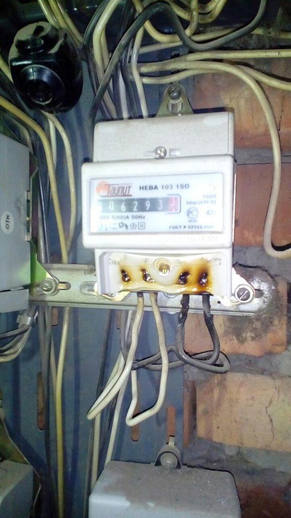 Плохая электрика жесть