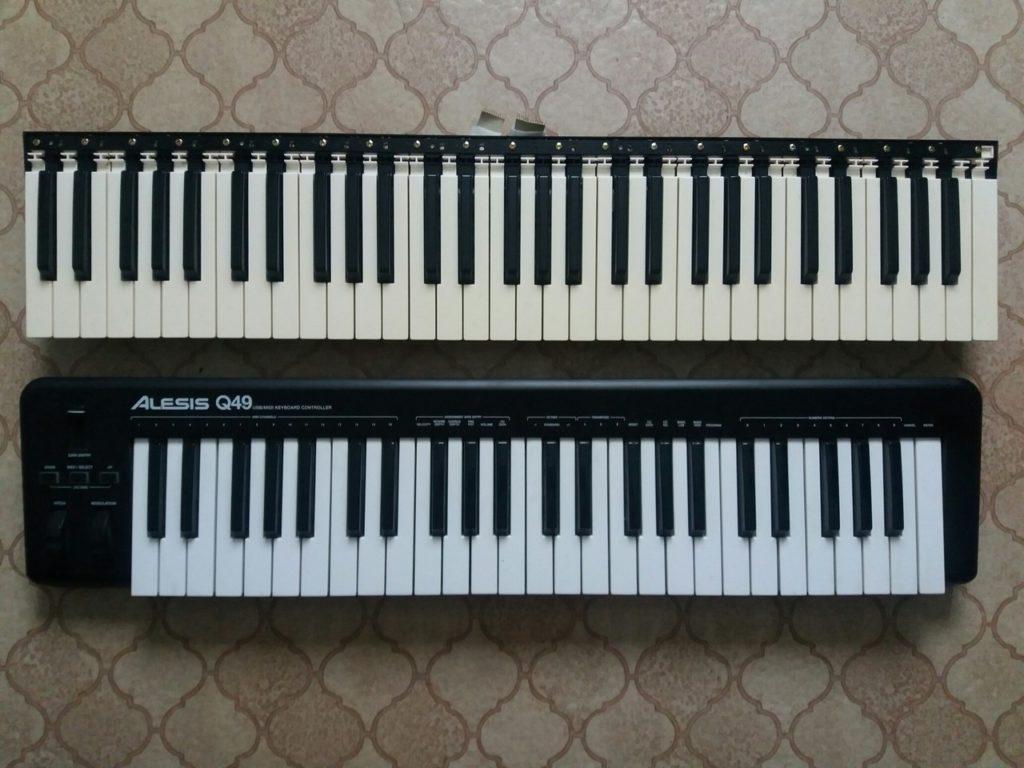 Ремонт клавиатуры синтезатора Yamaha в Рязани