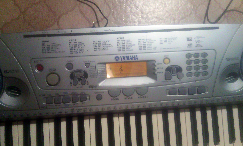 Чистка и ремонт синтезатора yamaha PSR 275