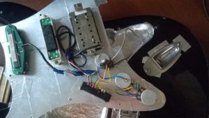 Экранировка электрогитары Peavey Predator