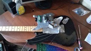 Схема распайки электрогитары Peavey Predator