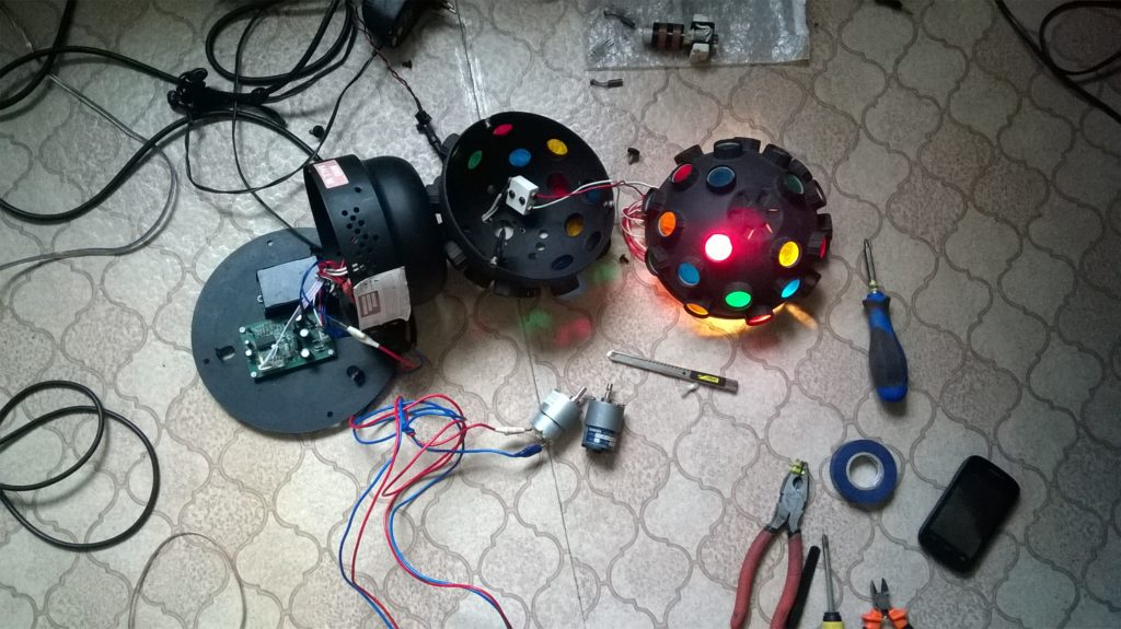 Ремонт диско шара в Рязани