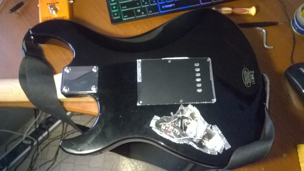 Борьба с фоном электрогитары