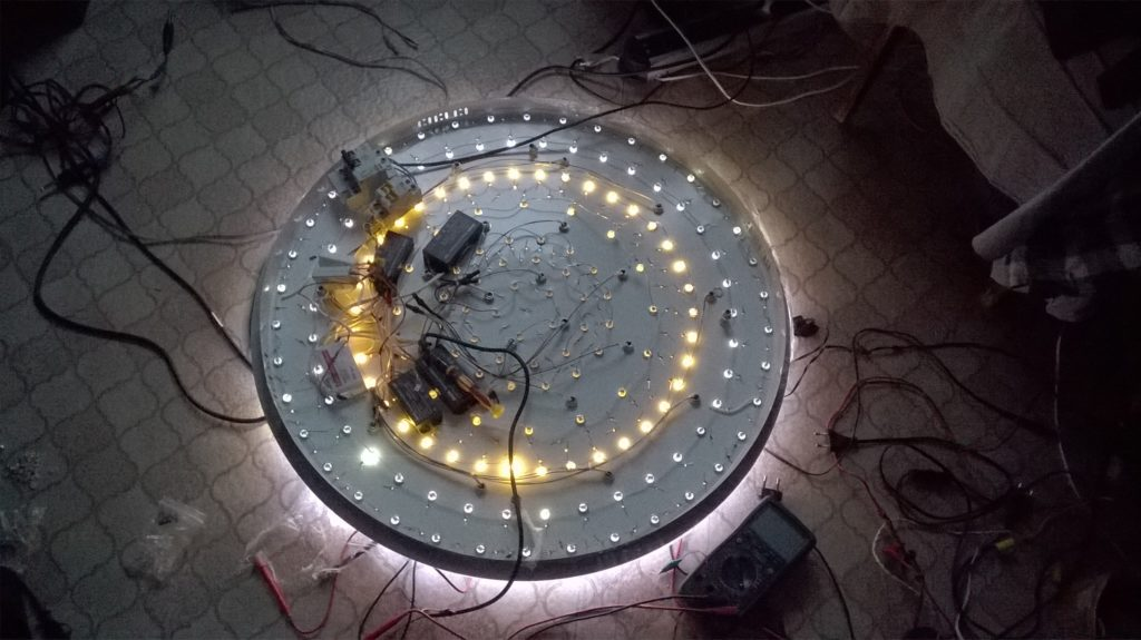 Ремонт светодиодной люстры