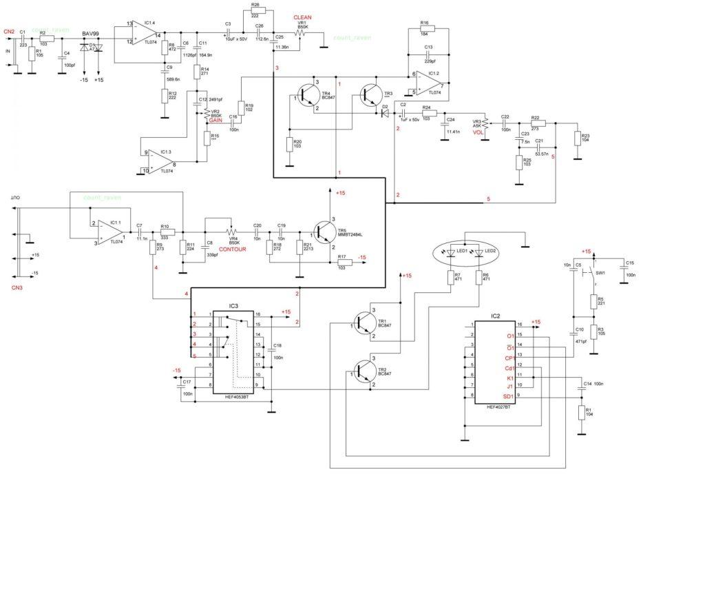 Схема Marshall MG10