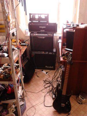Ремонт гитарных усилителей на дому