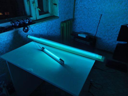 бактерицидная кварцевая ультрафиолетовая лампа ozon
