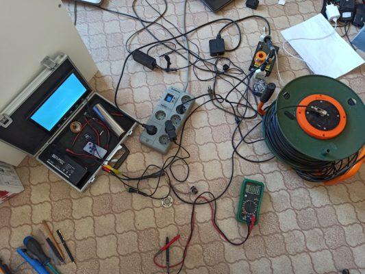 плохая камера для исследования скважин 8950-631-0160